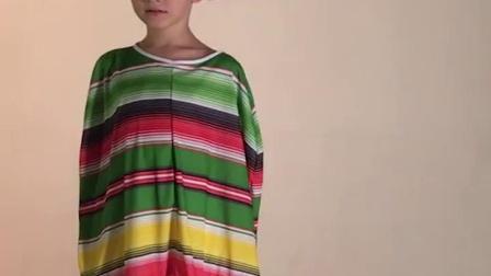 君晓天云儿童节墨西哥民族风情COS服装披风草帽成人儿童男女表演衣服服装
