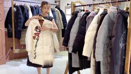 原创设计师羽绒服品牌折扣女装娅美悉拿货几折