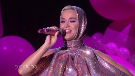 【猴姆独家】终于来了!水果姐#Katy Perry#电视首演强势新单Small Talk!