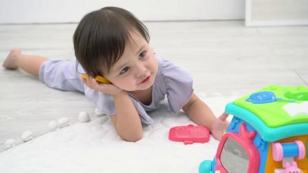 君晓天云澳贝生活体验馆婴幼儿早教益智多功能游戏台音乐儿童玩具1-2-3岁