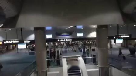 通力电梯麦卡伦国际机场风景牵引@拉斯维加斯,NV