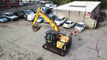 杰西博JS145LC二手挖掘机 -