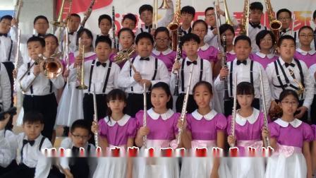 小金鹰管乐团参加市赛