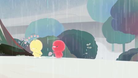 小鸡彩虹第一季 18 接雨滴
