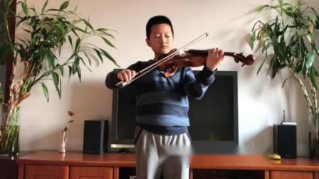 练琴……渔舟唱晚