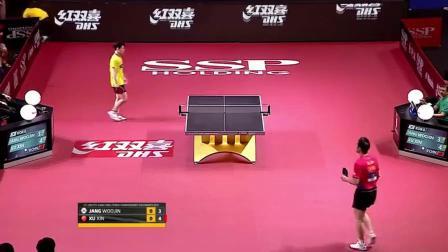 乒乓球亚锦赛 许昕战胜张禹珍欣赏一下精彩球