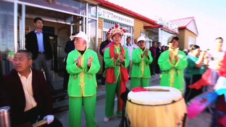 双辽市茂林镇红岗村庆祝中华人民共和国成立70周年秧歌大联欢