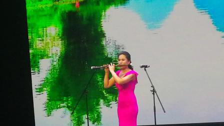 《彩云之韵》胡美玲作曲演奏 北京葫芦丝巴乌协会成立庆祝大会演出盛况