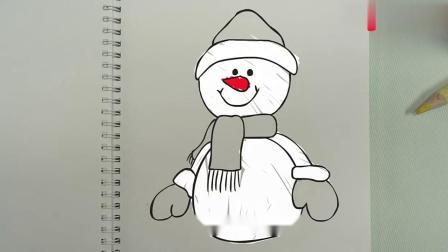 瑞奇宝宝:看圣诞树好漂亮,五颜六色的,旁边还有小雪人