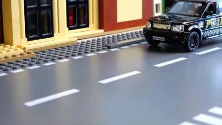 儿童汽车玩具总动员 儿童小车车超级跑车比赛开始啦