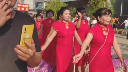 江西省抚州市临川区唱凯镇西徐女姗回娘家活动