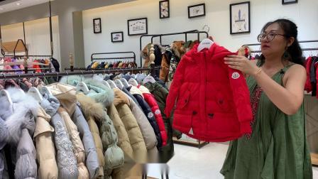 【安娜恩狮】韩版儿童羽绒服品牌折扣童装网店货源走份批发