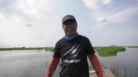 渔猎路亚雷强视频 北大荒猎黑放流巨物