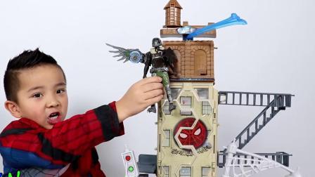 蜘蛛侠返校节玩具蜘蛛赛车手
