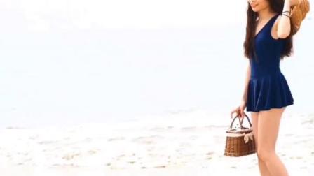 君晓天云夏季楔型凉拖鞋女厚底防滑外穿沙滩鞋时尚高跟四叶草链条钻人字拖鞋