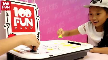君晓天云小黄人桌面冰球亲子互动对战机儿童益智玩具3-7岁男孩生日礼物