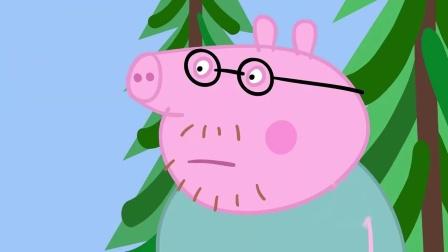 猪爸爸问公牛先生借吊车,佩奇说爸爸把车钥匙掉进排水道里去了!公牛先生没有拿到猪爸爸的车钥匙,他说吊车的起重链不够长!