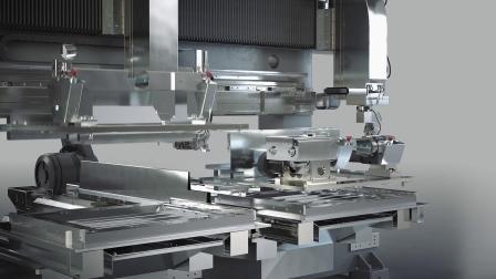 weil technology-用柔性激光单元(动画)技术在一个夹具中切割和焊接