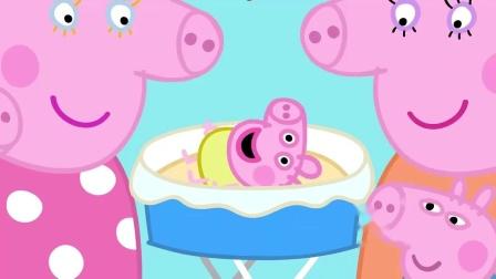 猪伯母要把宝宝哄睡着,宝宝喜欢吵闹一点,声音能帮他入睡!佩奇和乔治要在克洛伊的房间里睡觉,佩奇和乔治很兴奋!