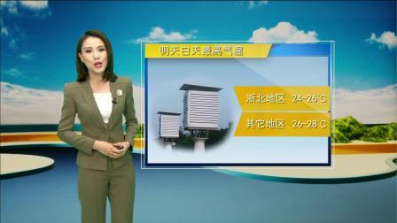 浙江天气预报(20190920)