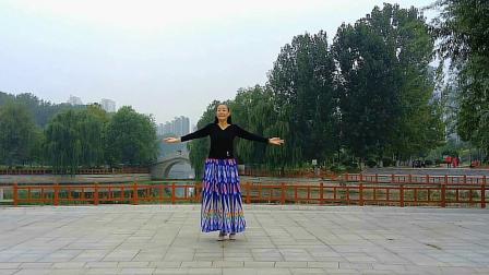 贞贞广场舞《站着等你三千年》编舞:无边   瓦瓦