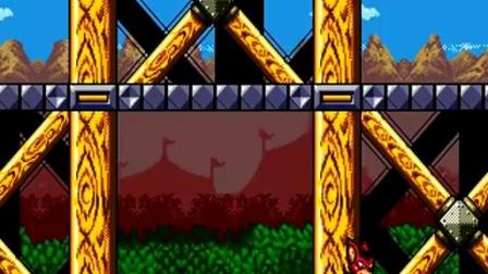 SFC SNES MD《蝙蝠鼠:飞翔蝙蝠》游戏通关演示(8376)AREO THE ACRO-BAT
