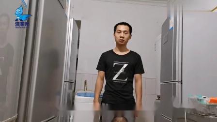 帅小伙从事家电维修清洗行业多年,揭秘波轮洗衣机拆卸、清洗方法