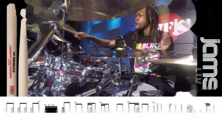 【套鼓練習】轉錄Devon Taylor - vfJAMS LIVE
