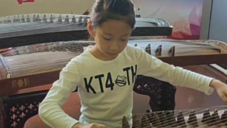凌异音乐工作室 王嘉琳同学古筝成品曲展示完整版来自天堂的魔鬼胡老师课堂