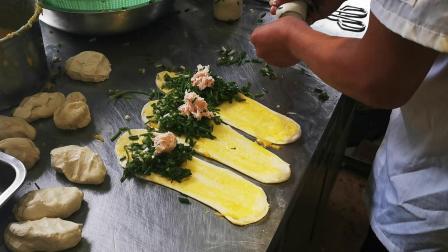 老上海葱油饼