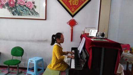聪明小颖颖钢琴曲欣赏 神秘花园 很好听哦