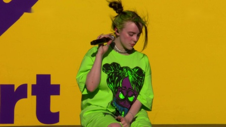 Billie Eilish - 2019 Daytime Stage At The iHeartRadio Music Festival 2019