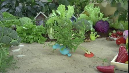 跳跳坐在胡萝卜上找胡萝卜,难怪跳跳找不到呢!