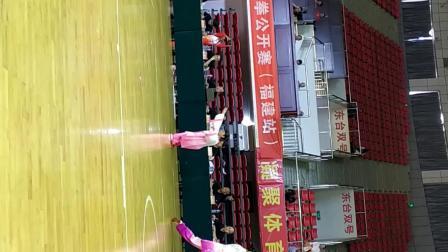 2019孙振环,杯全国太极拳公开赛福建站,黄小红武式太极拳比赛