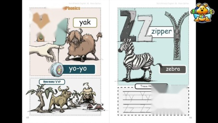 "Book-1B Unit-10: Phonics ""Yy and Zz"""