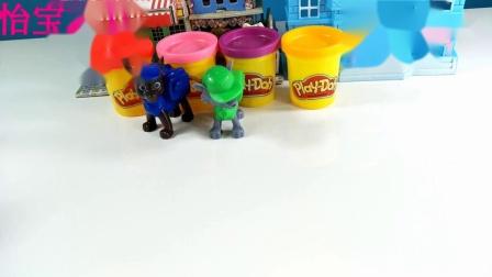 儿童启蒙手工制作 美味的彩泥冰淇淋