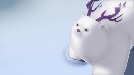 光头强保护团子斗天才威,团子用雪堆天才威,光头强争夺机器人!