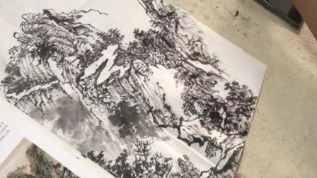 2019兴华班山水画技法16(9.23)