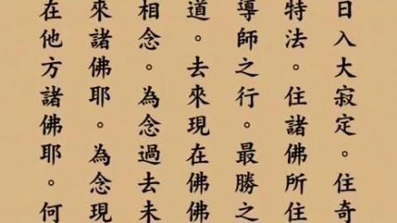 無量壽經讀誦(木魚)