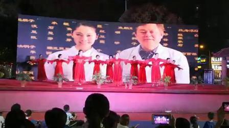 美女舞蹈《我和我的祖国 》 武汉梓洲花苑舞蹈队演出
