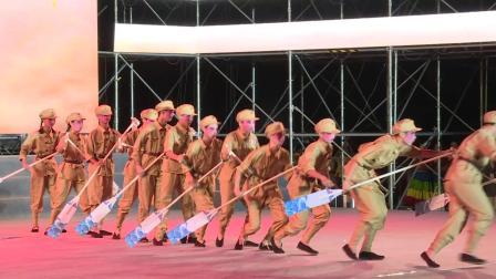 永康市庆祝中华人民共和国成立70周年大型文艺晚会 优秀节目展播婺剧《百万雄师过大江》表演:龙川学校