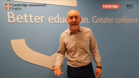 来自BEC全球主管Ian Cawley的公开课邀请