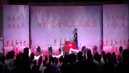 武安翟家庄萌萌哒舞蹈室2019年暑期汇报演出(基本功技巧展示)