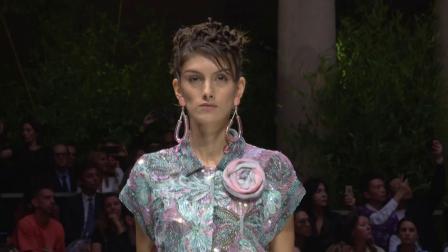 Giorgio Armani 2020春夏系列女装秀-Earth