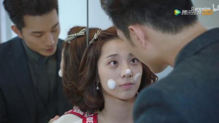《外星女生柴小七》徐志贤和万鹏的高甜泡沫吻戏