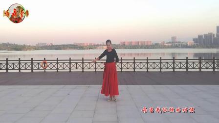 金华阿珂广场舞《红枣树》编舞,雨夜