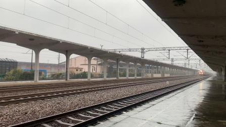 T77次 上海南—南宁 长安镇幺道通过 HXD1D0134