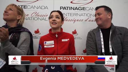 Autumn Classic International 2019 Evgenia Medvedeva SP
