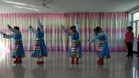 장족춤~(2019년9월9일,계림촌로인협회창립경축대회)