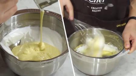 君晓天云学厨烘焙模具6寸圆形不粘活底中空乳酪戚风蛋糕模海绵蛋糕模
